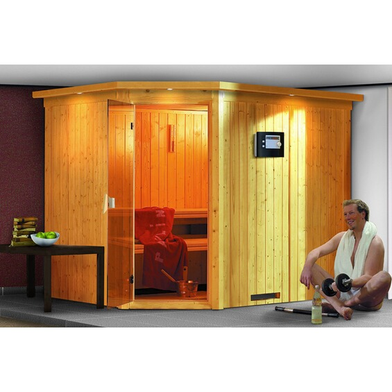 sauna malin im obi online shop. Black Bedroom Furniture Sets. Home Design Ideas
