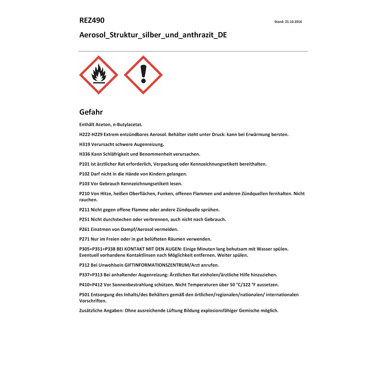 1548a179a1 OBI Struktureffekt Lack Spray Silber seidenmatt 400 ml kaufen bei OBI