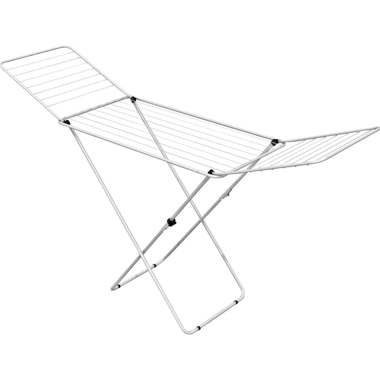 Gimi  Flügel-Wäscheständer Super Top 20 m mit Wäscheklammerkorb
