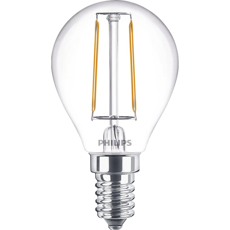 philips led leuchtmittel tropfenform e14 2 w 250 lm. Black Bedroom Furniture Sets. Home Design Ideas
