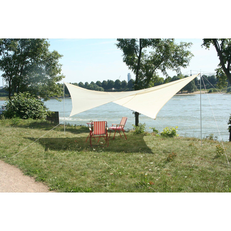 Floracord Camping Viereckssonnensegel Sand 400 ...