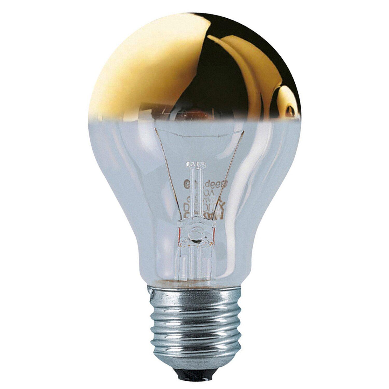 Osram E14 40W Kopfspiegellampe gold, warmweiß