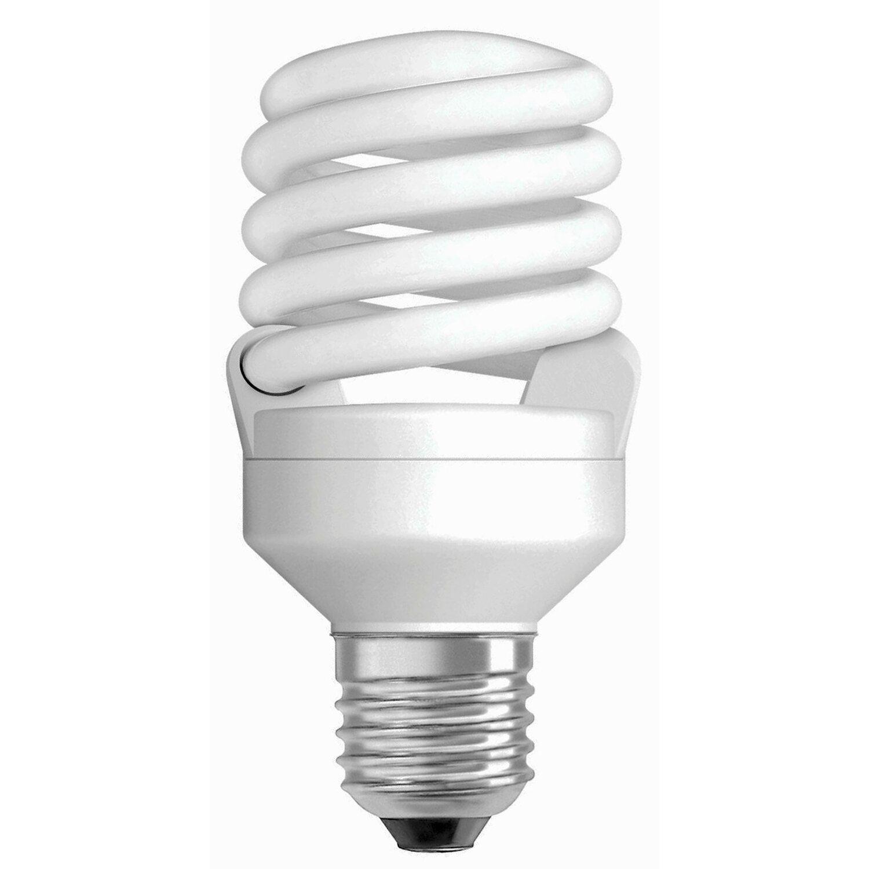 Osram Energiesparlampe Spiralform E27 / 15 W (9...