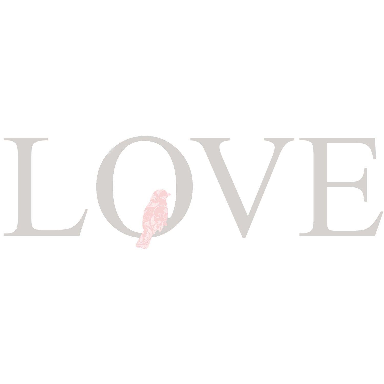 Dekoschriftzug Love 50 cm x 50 cm
