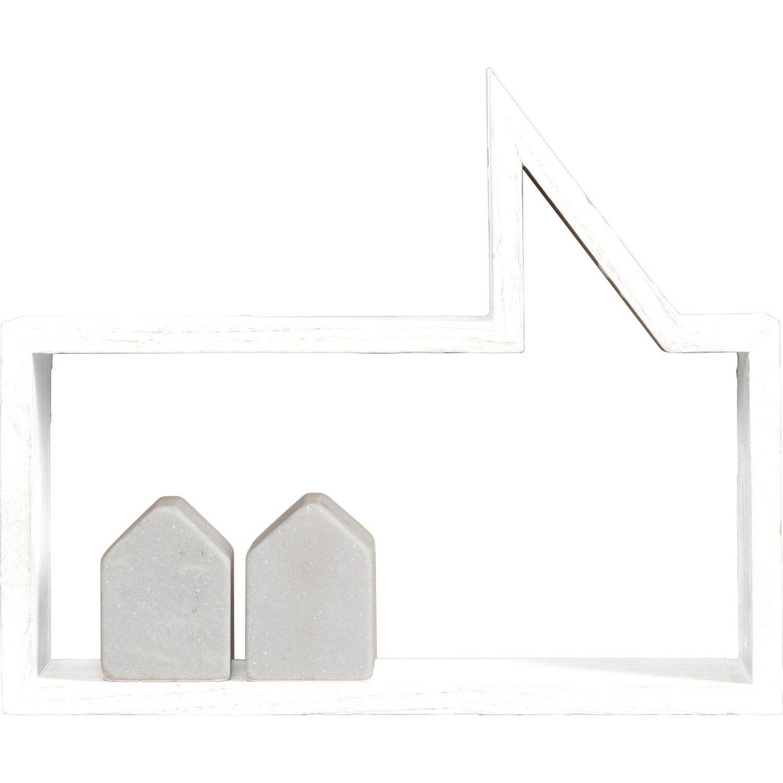 Best of home Wandregal 226 cm x 24 cm x 20 cm Weiß kaufen