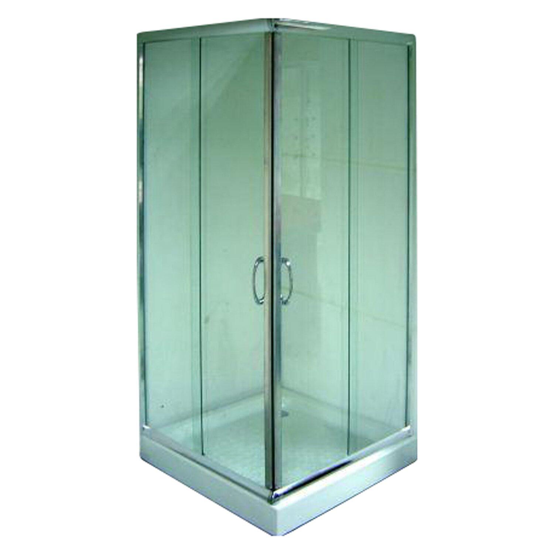 eckeinstieg 90 cm x 195 cm profile chrom kaufen bei obi. Black Bedroom Furniture Sets. Home Design Ideas