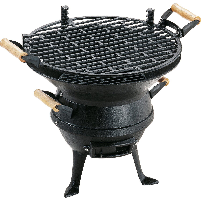 grillchef by landmann grillfass aus guss kaufen bei obi