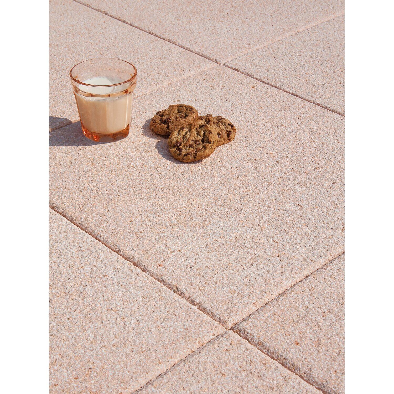 Terrassenplatte Piana Leicht Rosa Cm X Cm X Cm Kaufen Bei OBI - Steinplatten 2 cm stark