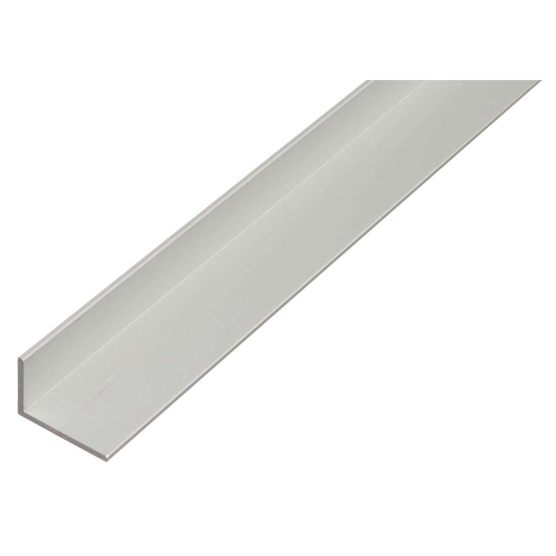 Winkelprofil Ungleichschenklig Silber 20 Mm X 30 Mm X 1000 Mm Starke 2 Mm Kaufen Bei Obi