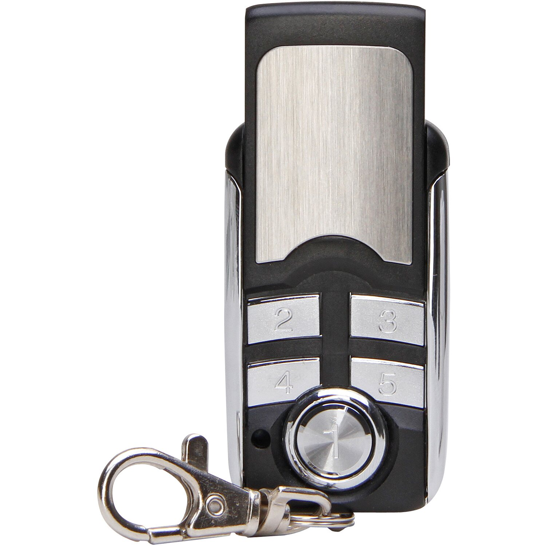 Funk-Handsender Mini Schwarz-Silber