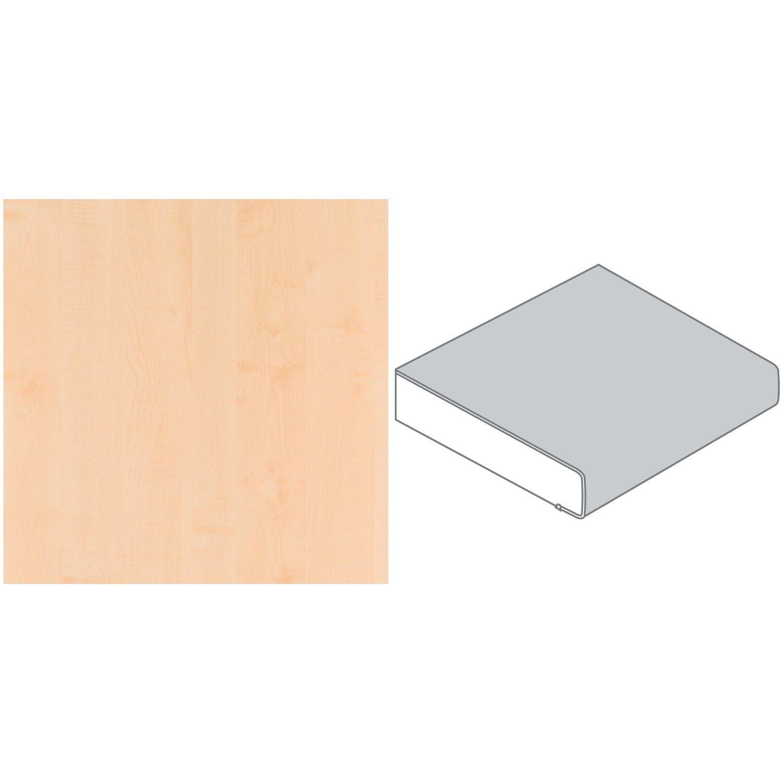 arbeitsplatte 60 cm x 2 9 cm ahorn geplankt elegant ha26 pof max l nge 4 1 m kaufen bei obi. Black Bedroom Furniture Sets. Home Design Ideas