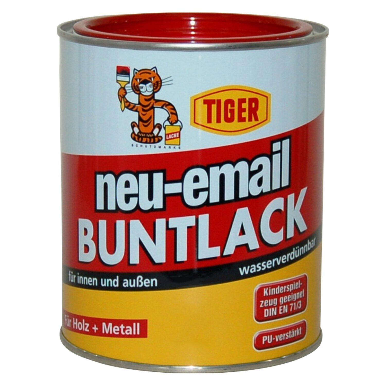 Tiger Neu-Email-Acryllack glänzend 224 Farblos 750 ml