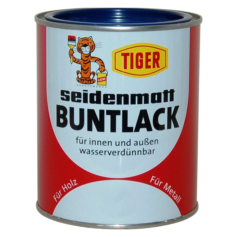 Tiger Buntlack Dunkelgrün seidenmatt 125 ml