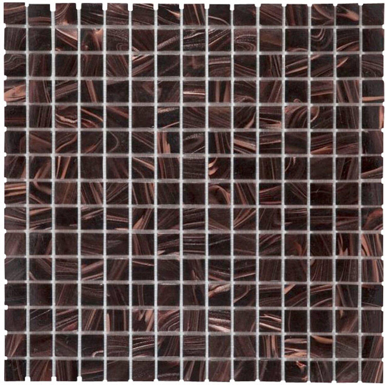 Fliesen Bordüre Braun Mosaik Kupfer - Fliesen bordüre obi