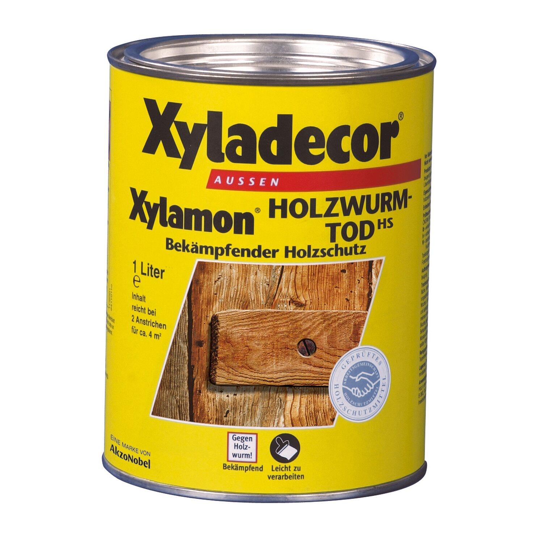 xyladecor holzwurm tod xylamon transparent 1 l kaufen bei obi. Black Bedroom Furniture Sets. Home Design Ideas
