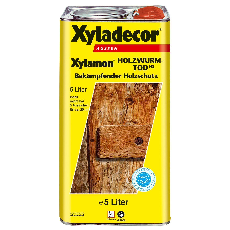 Xyladecor Holzwurm Tod Xylamon Transparent 5 L Kaufen Bei Obi