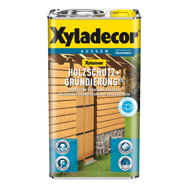 xyladecor holzschutz+grundierung xylamon transparent 5 l kaufen bei obi
