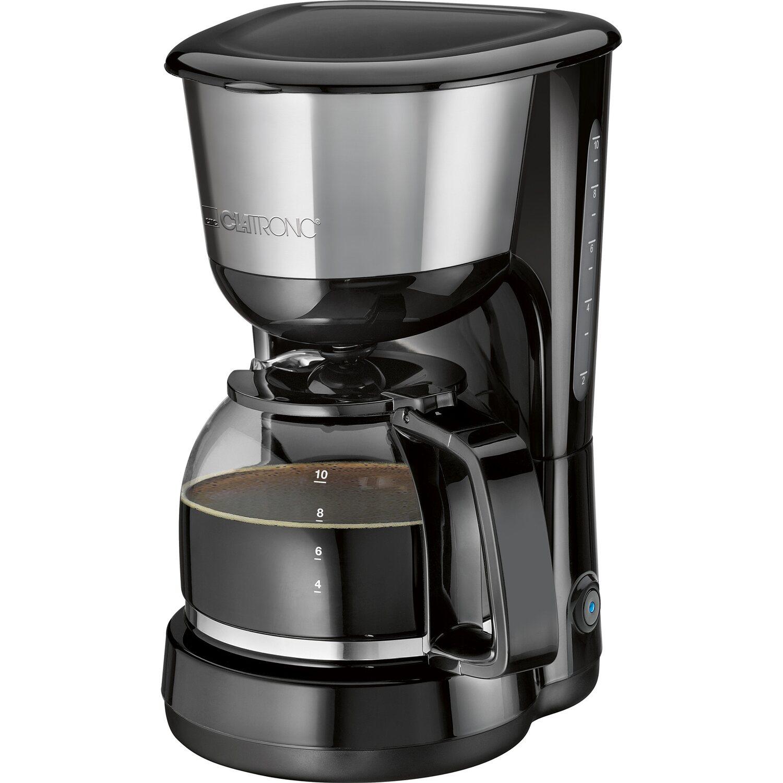 clatronic kaffeeautomat ka 3575 edelstahl schwarz kaufen bei obi. Black Bedroom Furniture Sets. Home Design Ideas