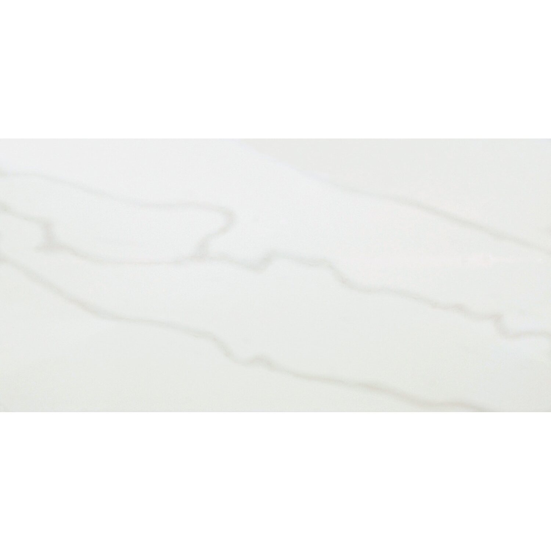 Sonstige Wandfliese Toulouse Grau glänzend 30 cm x 60 cm