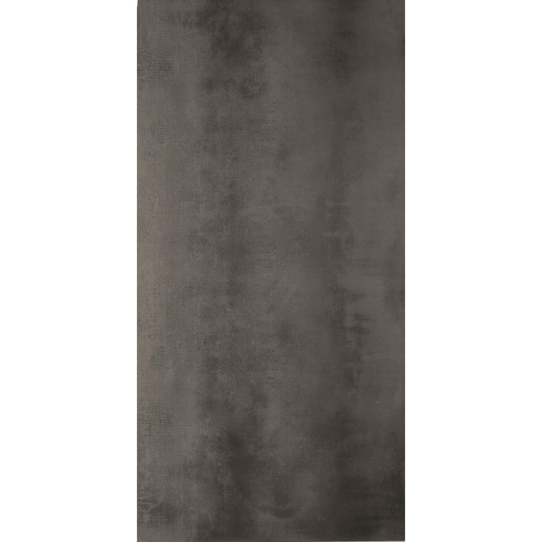 Sonstige Feinsteinzeug Oxid Anthrazit 40 cm x 80 cm