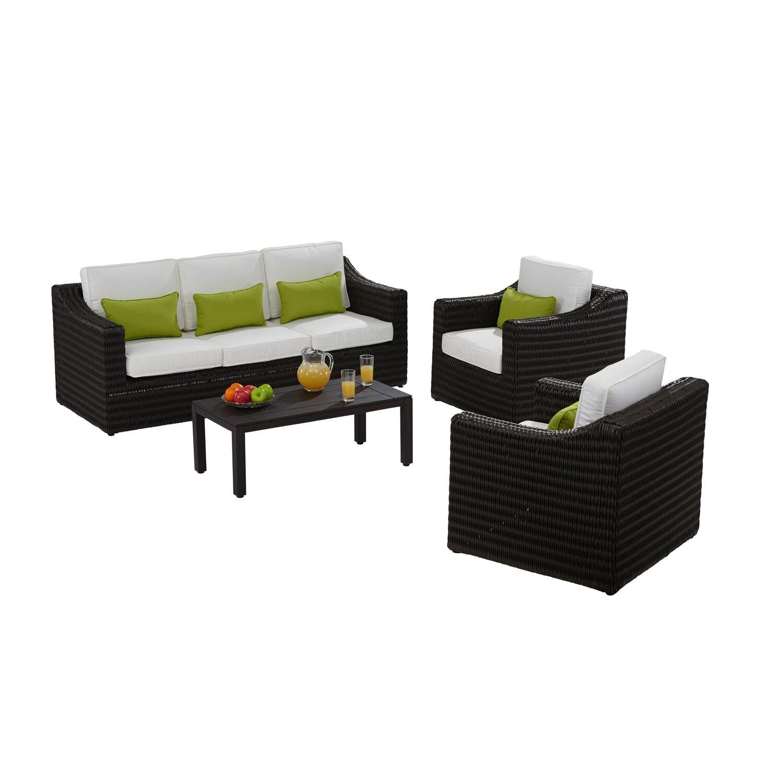 obi gartenm bel gruppe jackson 4 tlg kaufen bei obi. Black Bedroom Furniture Sets. Home Design Ideas