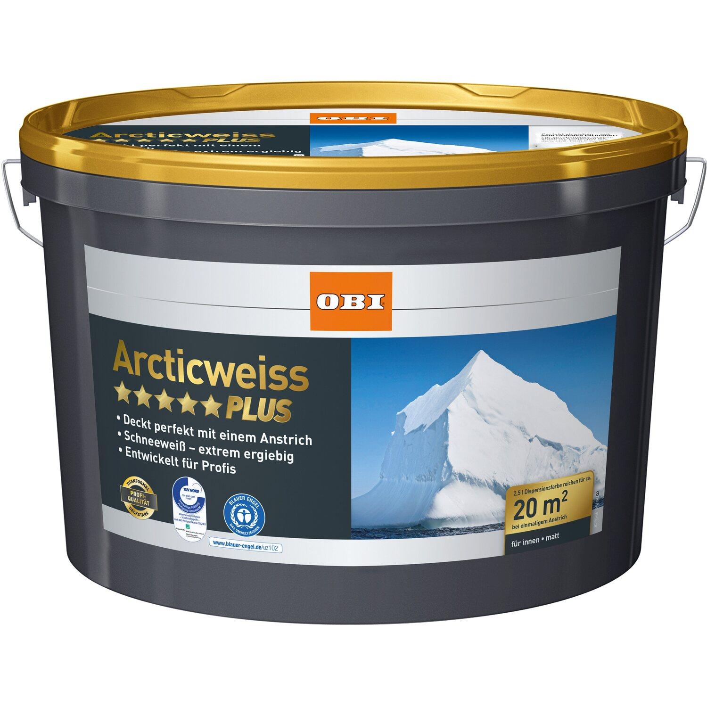 obi arcticweiss plus matt 2 5 l kaufen bei obi. Black Bedroom Furniture Sets. Home Design Ideas