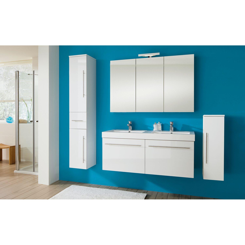 obi doppel waschplatz albo wei 2 teilig kaufen bei obi. Black Bedroom Furniture Sets. Home Design Ideas