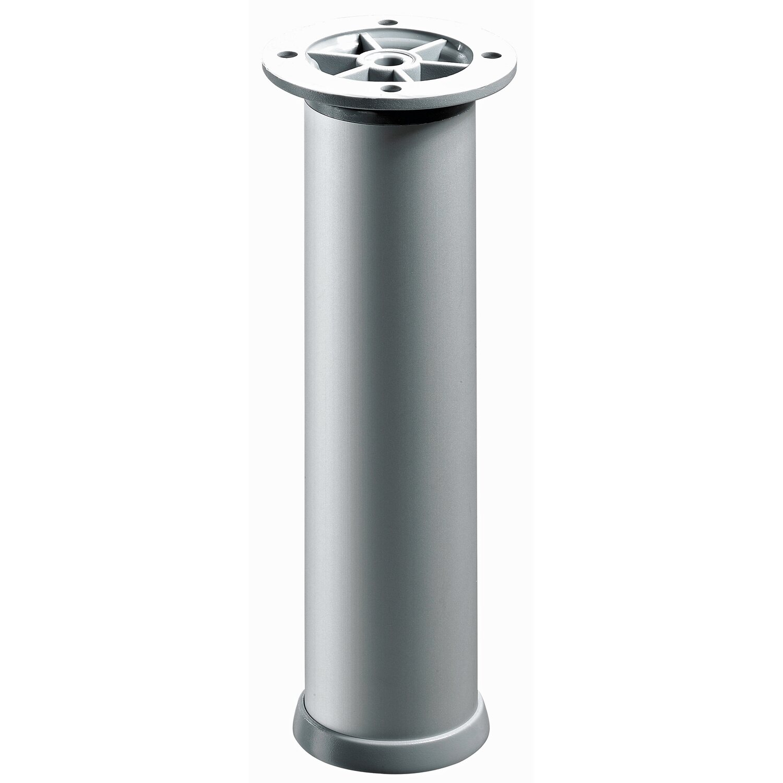 Hettich  Aluminium-Möbelfuß höhenverstellbar Ø 30 x 200 - 230 mm