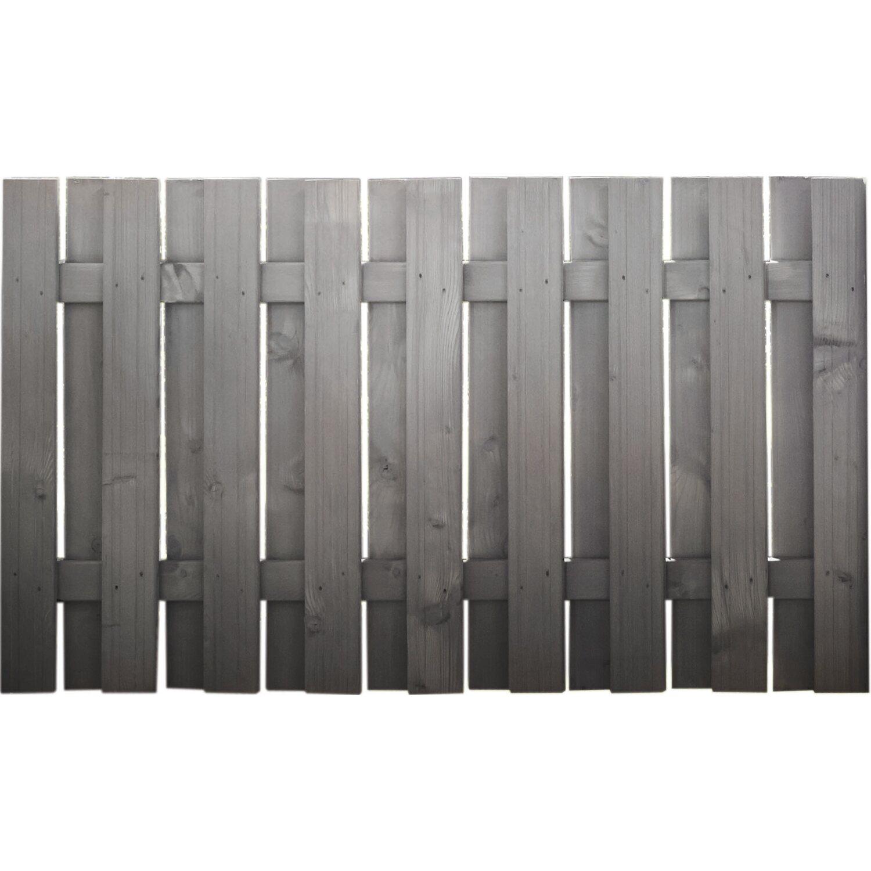 Sichtschutzzaun element seattle anthrazit 90 cm x 180 cm - Zaunelemente obi ...