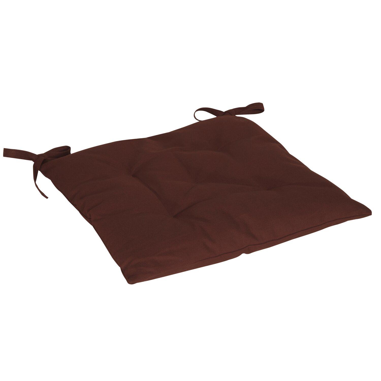 stuhlkissen luis schoko 40 cm x 40 cm kaufen bei obi. Black Bedroom Furniture Sets. Home Design Ideas