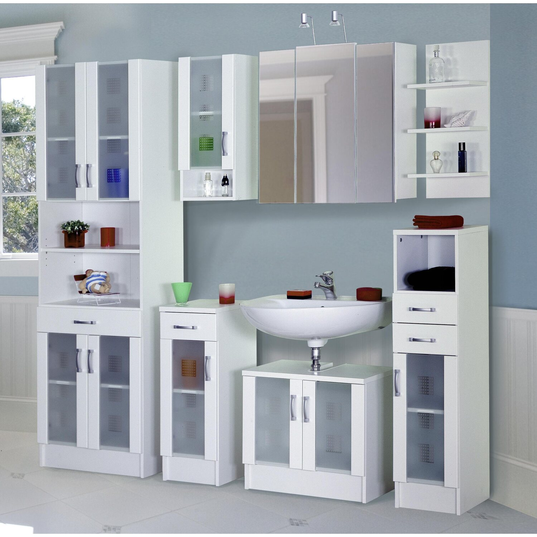 posseik badm bel set eek c nizas wei 7 teilig kaufen bei obi. Black Bedroom Furniture Sets. Home Design Ideas