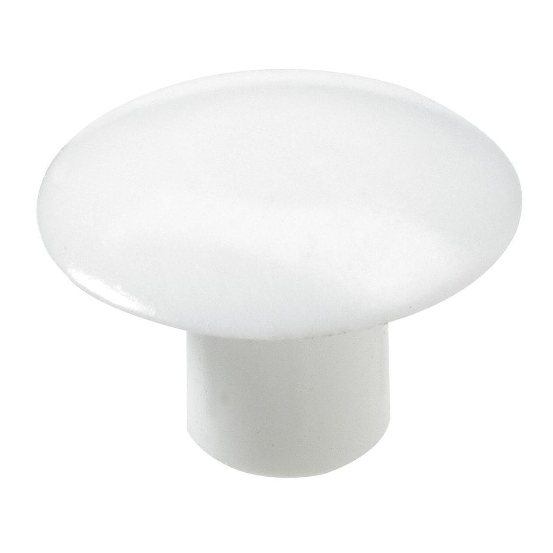 Hettich  Abdeckkappe 6 mm Kunststoff Weiß