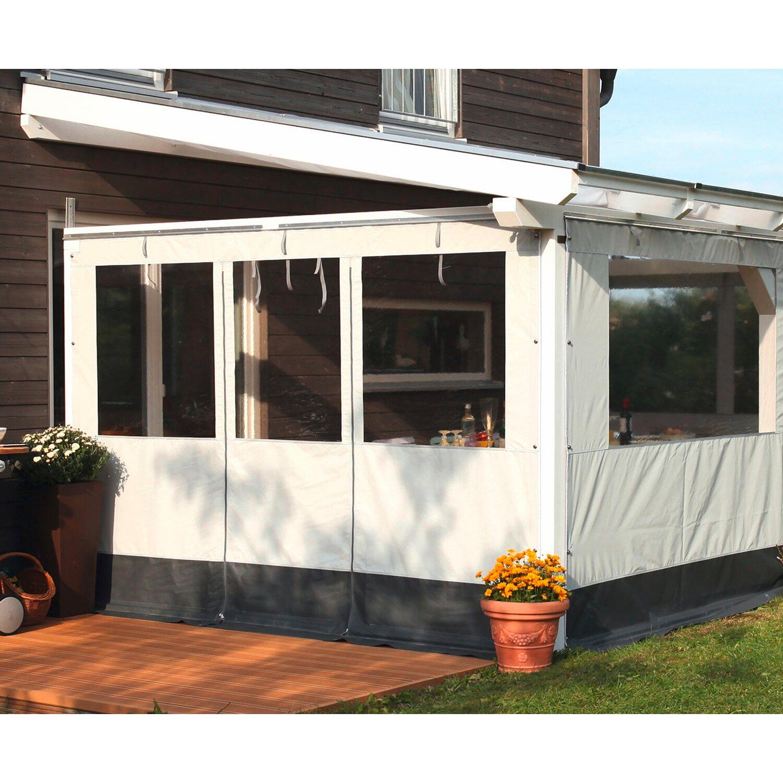 skan holz partyzeltwand seite f r terrassen berdachung 400 389 cm tiefe kaufen bei obi. Black Bedroom Furniture Sets. Home Design Ideas