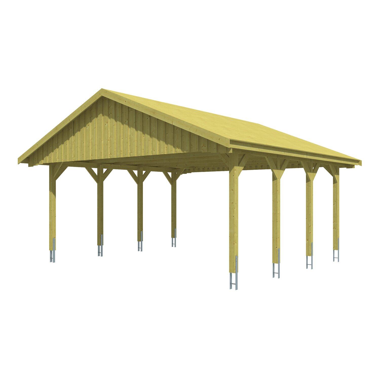 skan holz satteldach carport sauerland 620 cm x 600 cm dachschalung kaufen bei obi. Black Bedroom Furniture Sets. Home Design Ideas