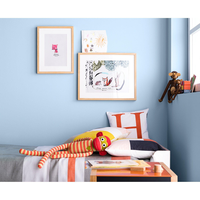 Schöner Wohnen Wandfarbe Naturell Felsgrau Matt 2 5 L: Schöner Wohnen Wandfarbe Naturell Quellblau Matt 2,5 L
