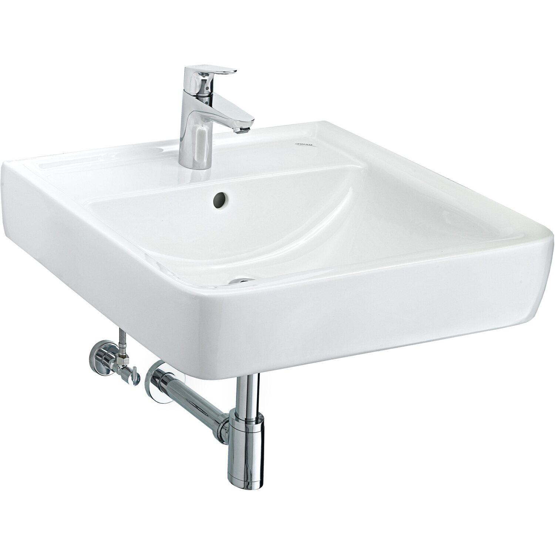 keramag waschbecken renova nr 1 plan 60 cm wei mit