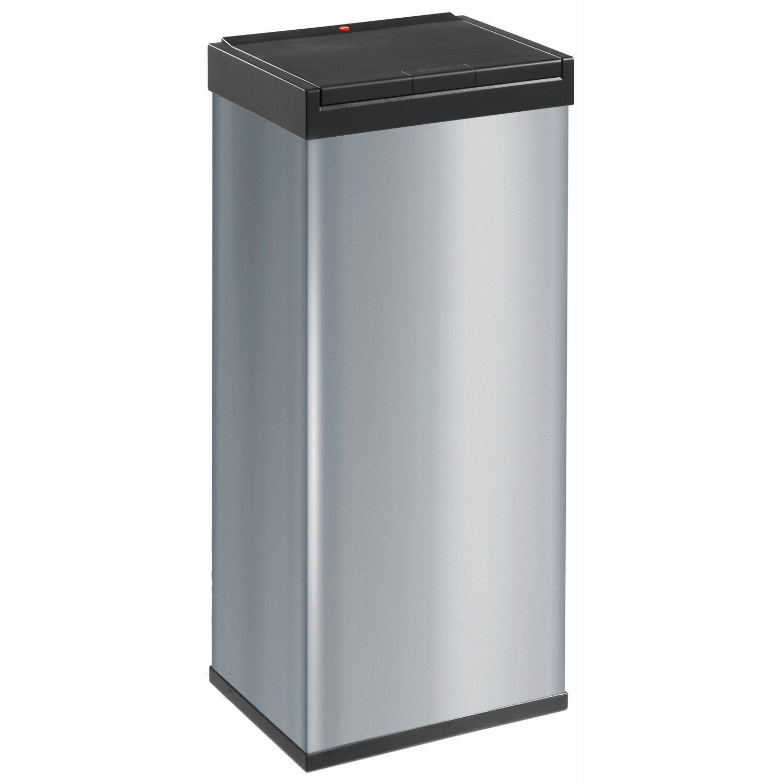 Hailo Grossraum Mulleimer Big Box Touch 60 L Silber Kaufen Bei Obi