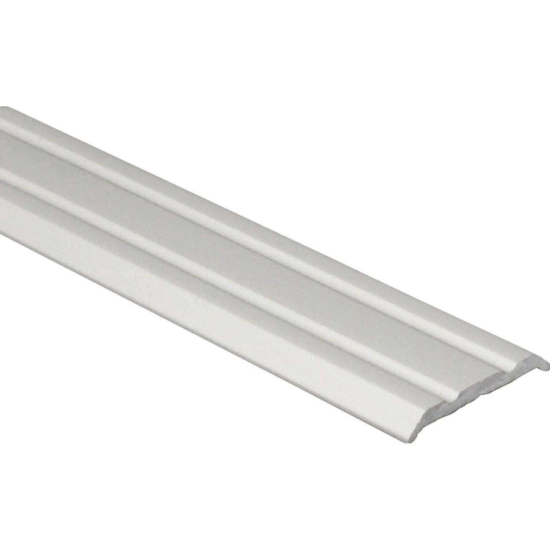 Arcansas Übergangsprofil Piattoal Alu elox. Silber matt 25 mm x 0,9 m