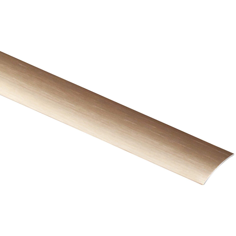 Arcansas Übergangsprofil Semial Alu elox. Kupfer gebürstet 25 mm x 0,9 m selbstklebend