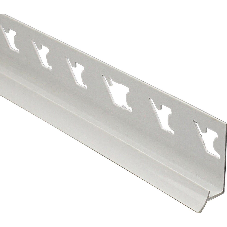 Arcansas Eckfuge PVC glänzend Weiß 8 mm x 2,5 m