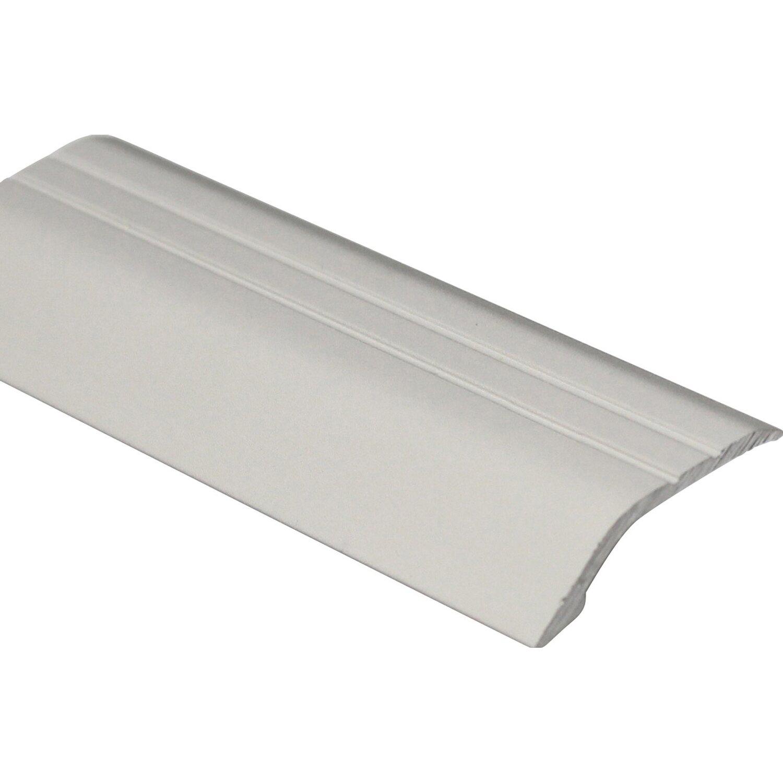 Arcansas Bodenausgleichsprofil Piedal Alu eloxiert Silber matt 10 mm x 0,9 m