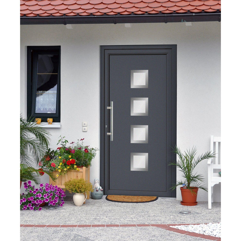 aluminium haust r 110 cm x 210 cm ef 55301 anthrazit anschlag links kaufen bei obi. Black Bedroom Furniture Sets. Home Design Ideas