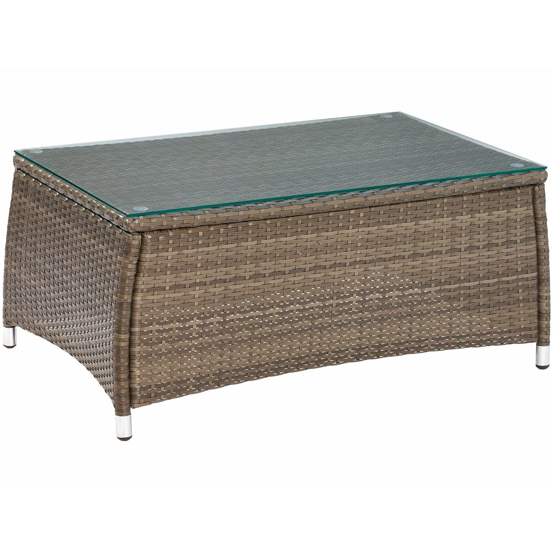 obi gartenm bel gruppe melvern grau 4 tlg kaufen bei obi. Black Bedroom Furniture Sets. Home Design Ideas