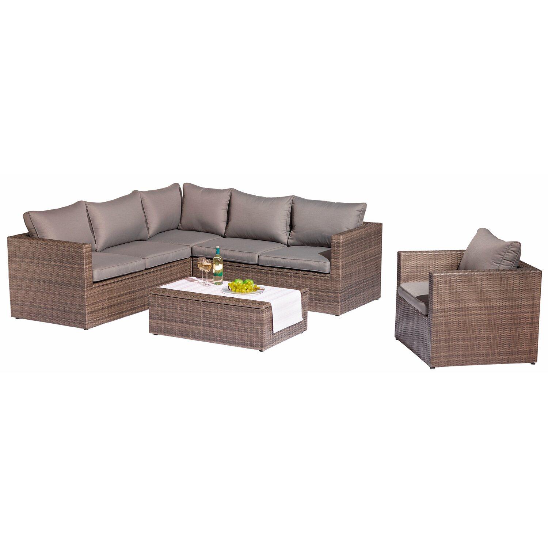 obi gartenm bel gruppe livingston 5 tlg kaufen bei obi. Black Bedroom Furniture Sets. Home Design Ideas