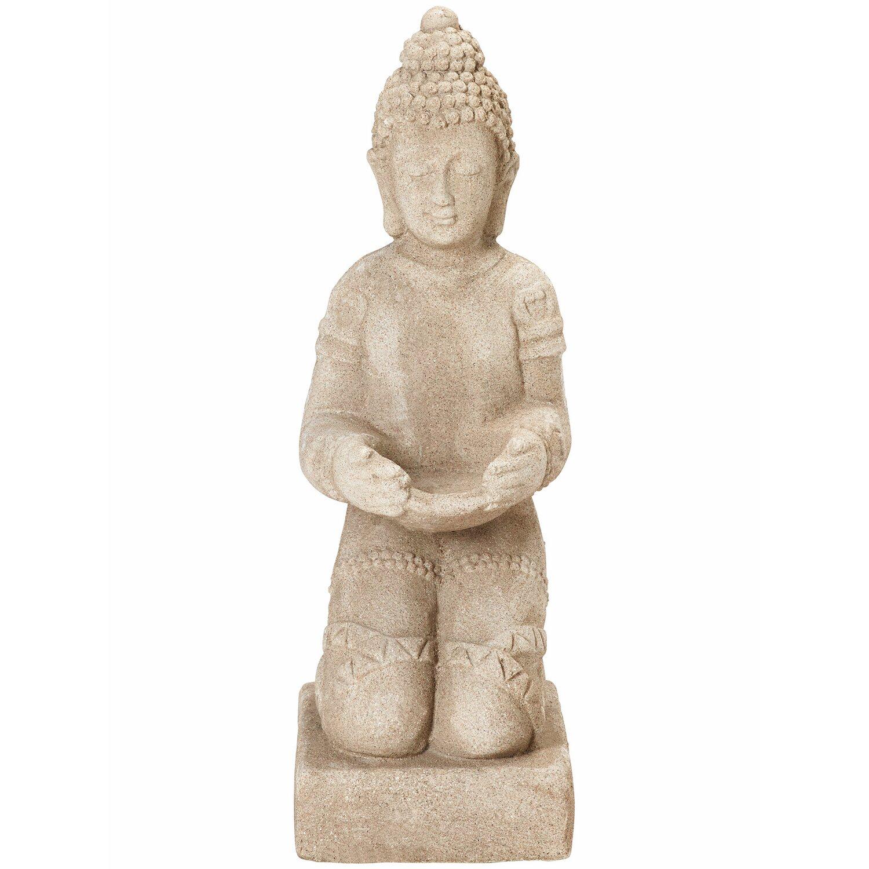 Deko Figur Buddha Kniend 42 Cm