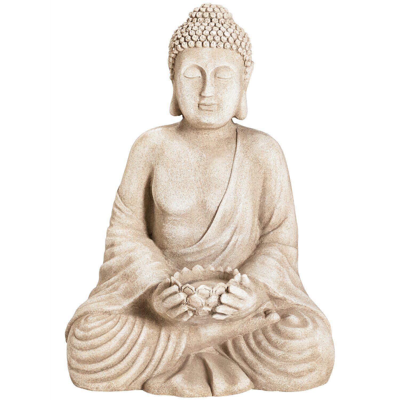 deko-figur buddha sitzend 47 cm kaufen bei obi
