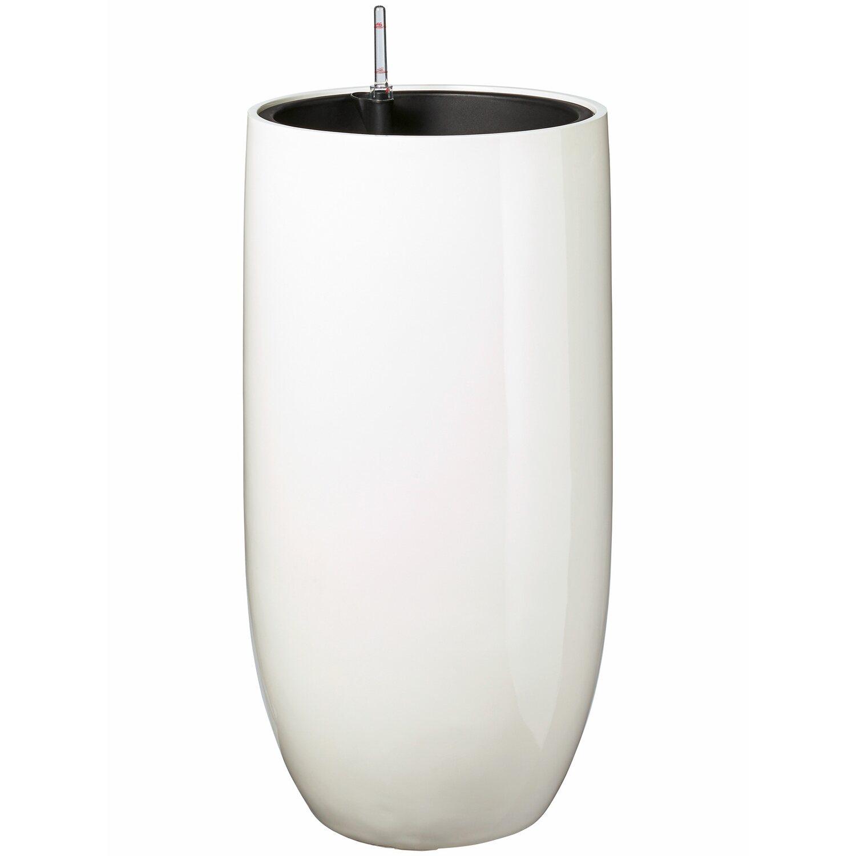Pflanz Vase O 39 5 Cm X 78 Cm Weiss Kaufen Bei Obi