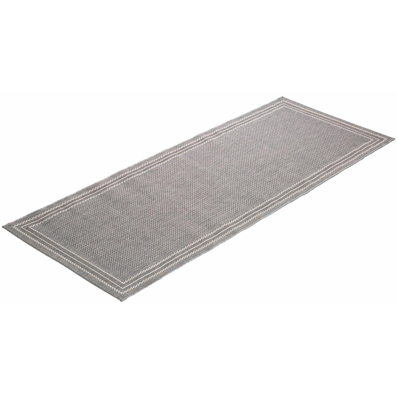OBI  Teppich Tiana Grau 80 cm x 180 cm