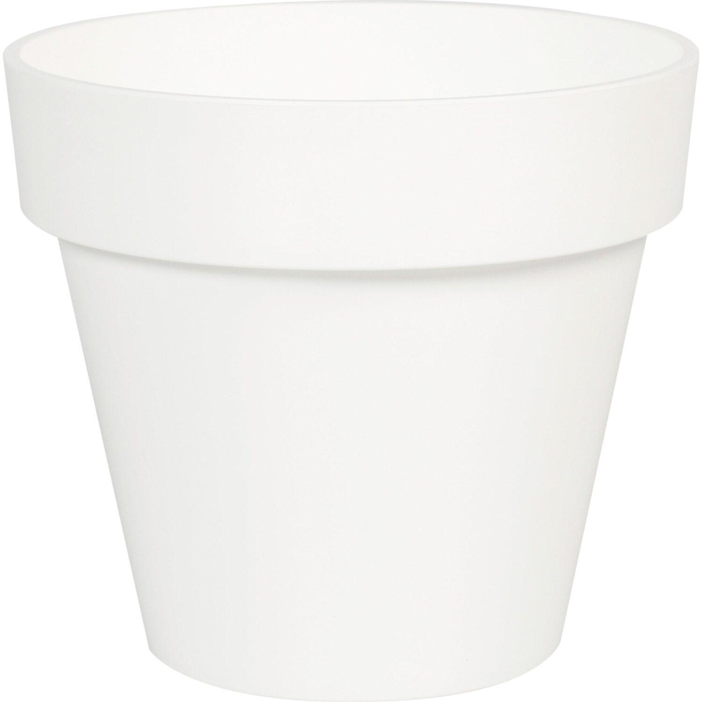 Übertopf Ø 8,6 cm Weiß