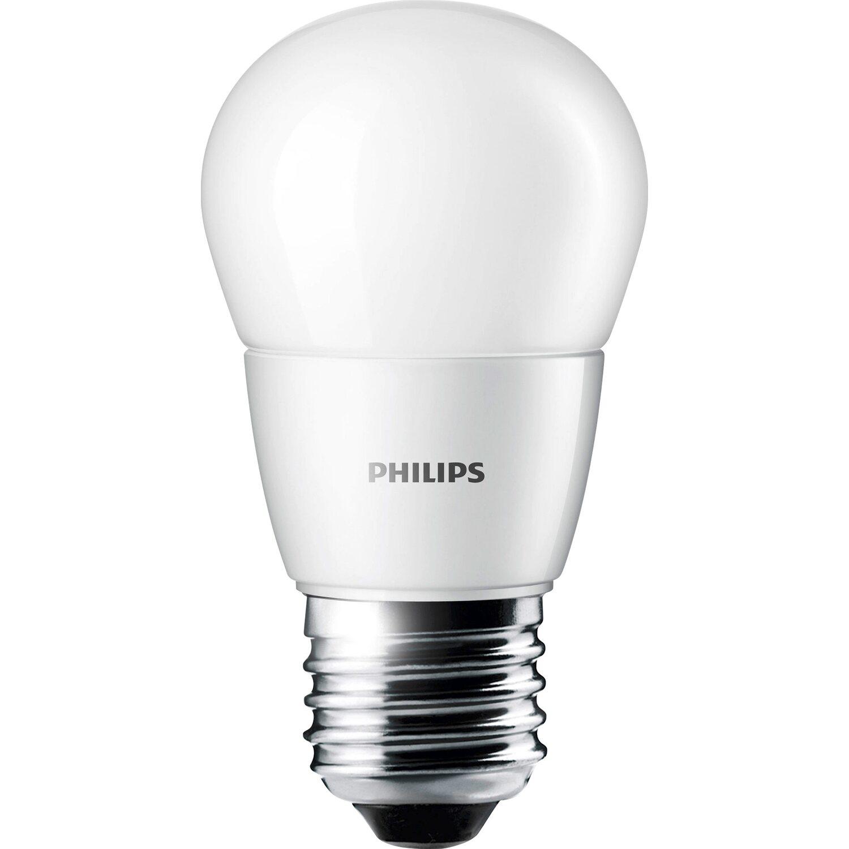 Philips LED-Lampe Tropfenform E27 / 3 W (250 lm), Warmweiß EEK: A+ ...